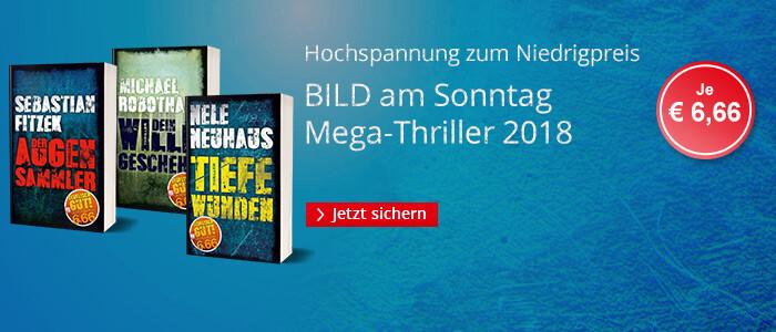 BamS Megathriller - Hochspannung für je € 6,66