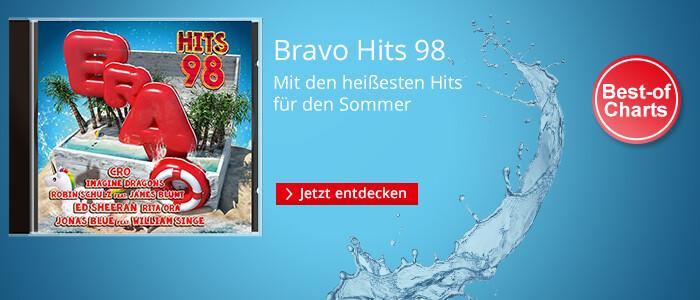 Bravo Hits 98 - mit den heißesten Hits für den Sommer