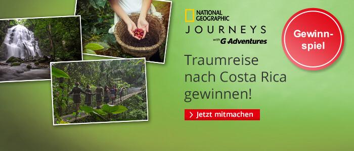 Traumreise nach Costa Rica gewinnen