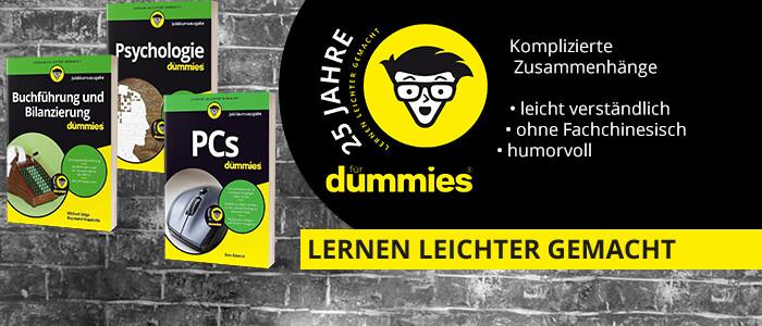 25 Jahre Dummies - die Jubiläumsaktion