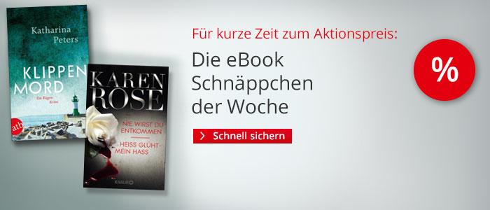 Die eBook Schnäppchen der Woche bei Hugendubel.de