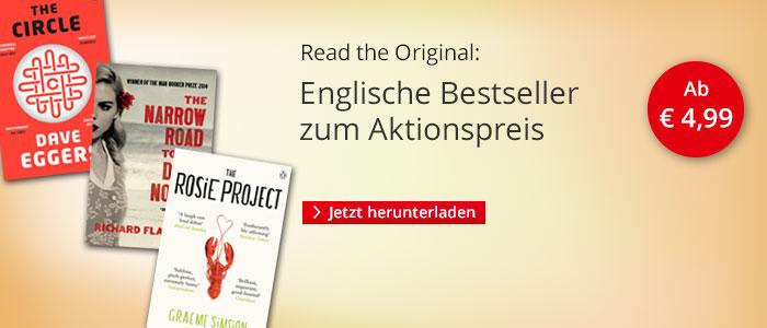 Englische Bestseller zum Aktionspreis bei Hugendubel.de