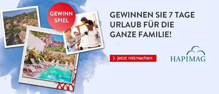 Gewinnen Sie mit Hapimag einen Urlaub für die ganze Familie!