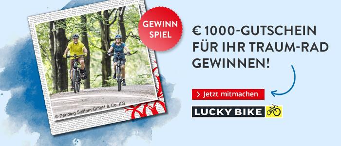 € 1000 für ihr Traum-Rad gewinnen!