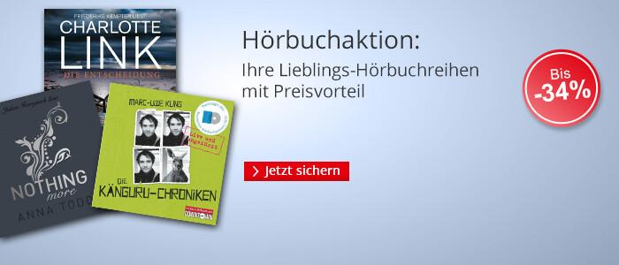 Hörbuch-CDs beliebter Serien zum Aktionspreis bei Hugendubel