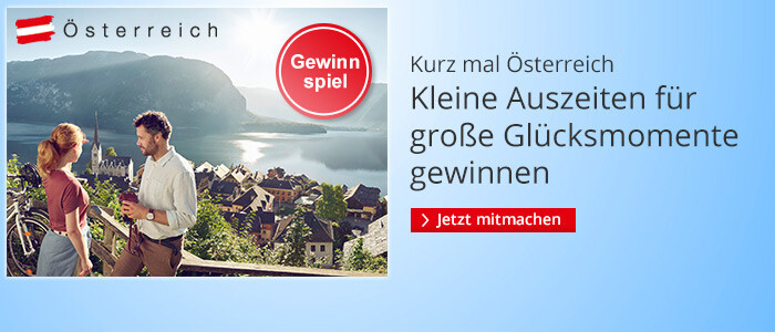 Kurz mal Österreich: Kleine Auszeiten für große Glücksmomente gewinnen
