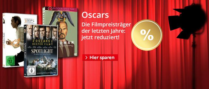 Die Oscar Gewinner der letzten Jahre - jetzt reduziert