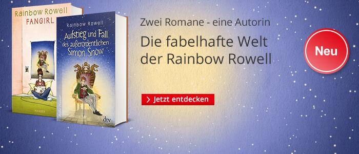 Rainbow Rowell: Eine Autorin - zwei Bücher