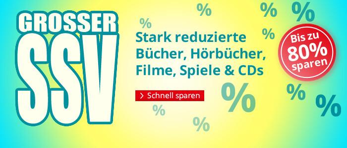 Großer SSV bei Hugendubel.de - Bücher, Filme, Hörbücher, Spiele & CDs