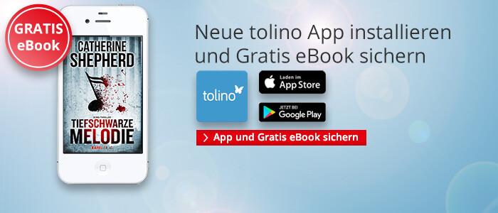 Neue tolino App und Gratis eBook sichern