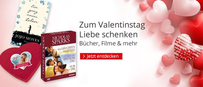 Die besten Geschenkideen zum Valentinstag bei Hugendubel.de