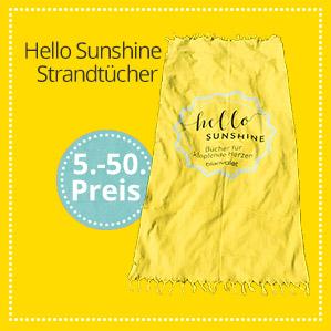 Hello Sunshine Strandlaken