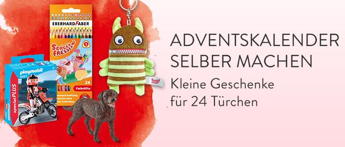 Adventskalender selber machen: Kleine Geschenke für 24 Türchen