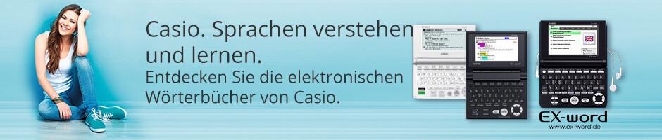 Casio. Elektronische Wörterbücher