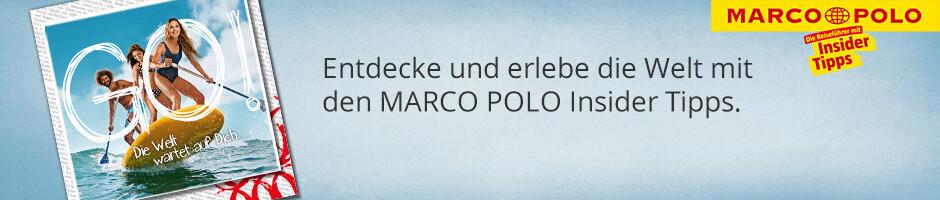 Entdecke die Welt mit Reiseführern von Marco Polo