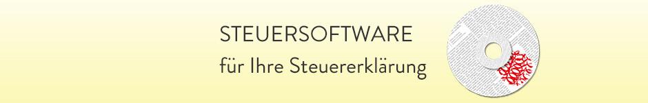 Steuersoftware - für Ihre Steuererklärung