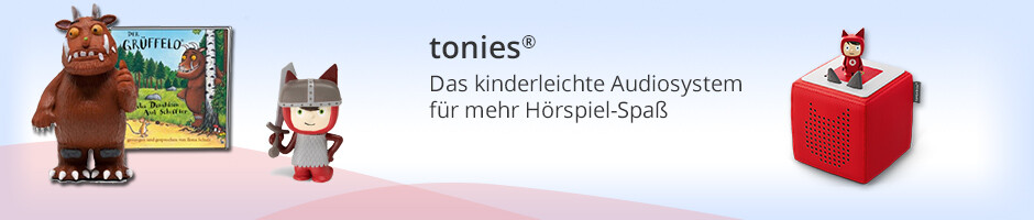 tonies® - das neue Audiosystem für Kinderhörspiele