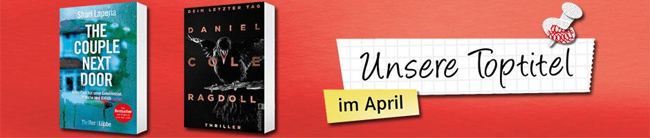 Die Toptitel im April