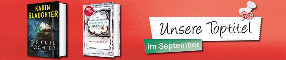 Unsere Toptiel im September