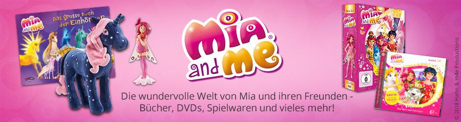 Die wundervolle Welt von Mia und Me - Bücher, DVDs, Spielwaren u.v.m.