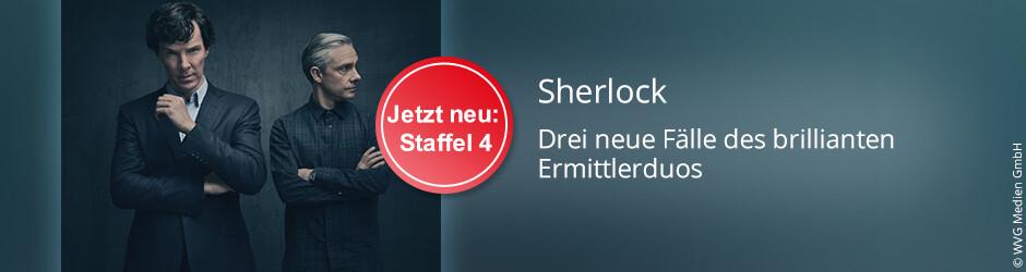 Sherlock - Staffel 4 der Serie mit Benedict Cumberbatch