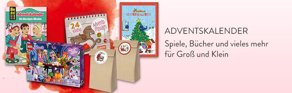 Adventskalender für Groß und Klein bei Hugendubel.de - Bücher, Spiele, Hörbücher, Tischkalender und vieles mehr