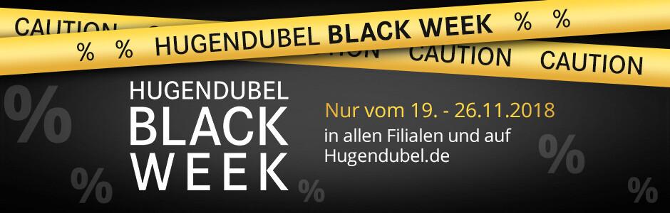 BLACK WEEK vom 19.-26.11. in allen Filialen und auf Hugendubel.de
