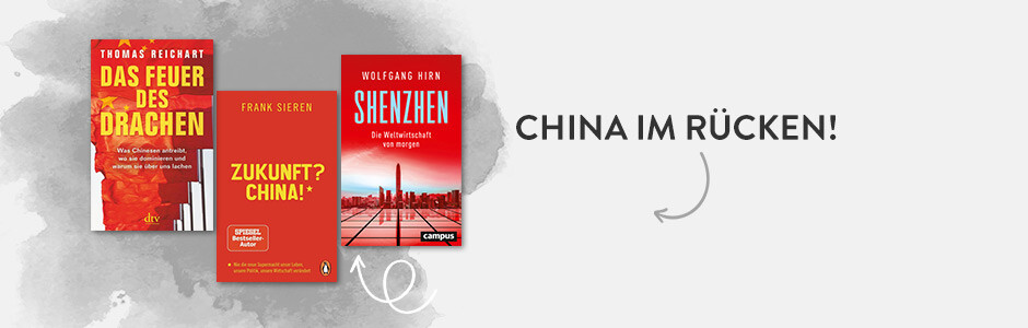 China im Rücken