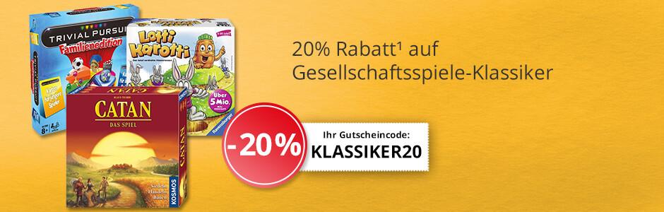 Gesellschaftsspiele-Klassiker -20%