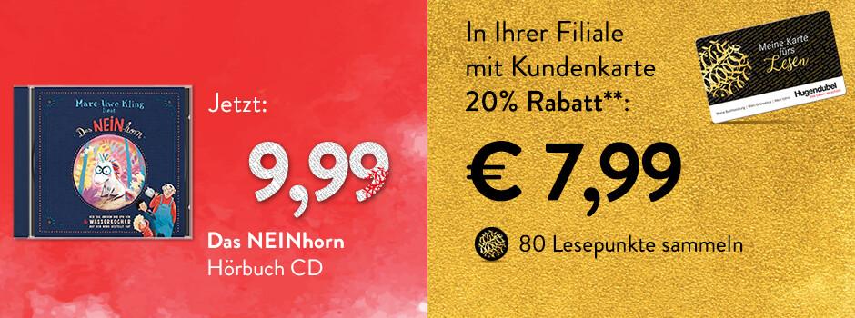 NEINhorn - mit Kundenkarte 20% in der Filiale auf die DVD sparen!