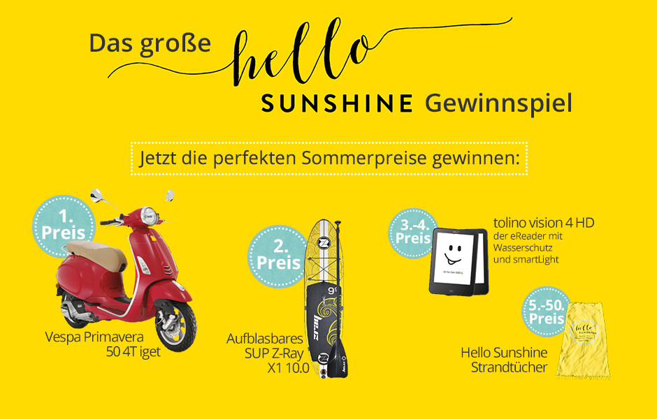 Hello Sunshine Gewinnspiel