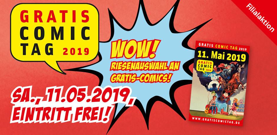 Gratis Comictag 2019