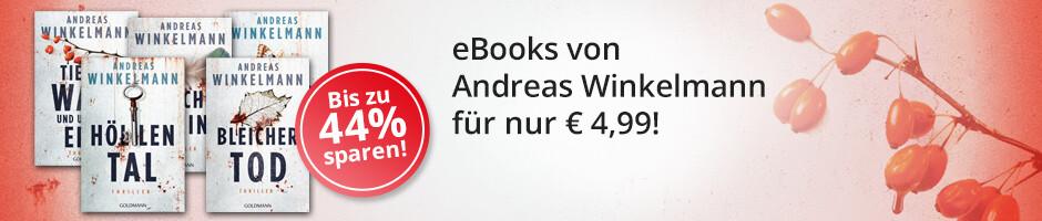 5 Krimis von Andreas Winkelmann reduziert - jetzt herunterladen