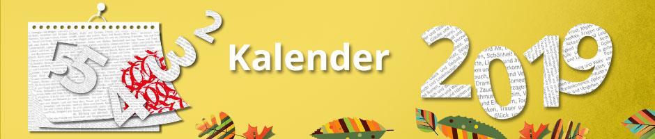 Kalender 2019 entdecken
