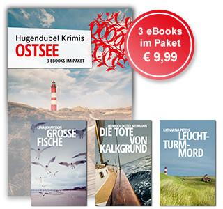 Hugendubel Krimis: 3 Krimi-eBooks von der Ostsee im günstigen Paket