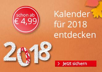 Kalender 2018 entdecken