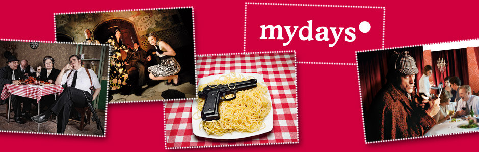 Krimidinner von mydays.de