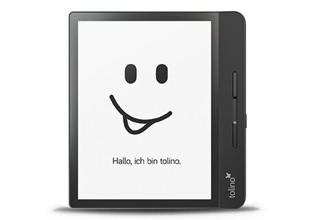 tolino epos 2: Ein ergonomisches Design, das gut in der Hand liegt
