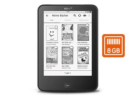 tolino vision 4 HD - 3x mehr Platz für alle Ihre Lieblingsbücher