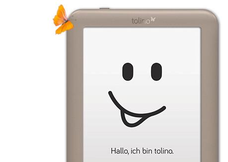 Einfachste Handhabung mit dem Touchscreen des tolino page.
