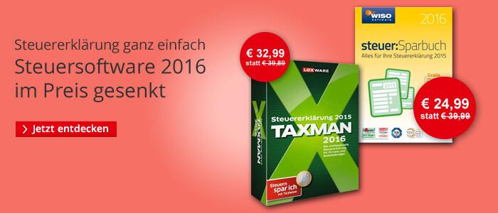 Steuersoftware 2015/2016 bei Hugendubel.de