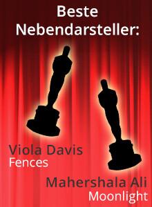 Oscars 2017 - Viola Davis & Mahershala Ali