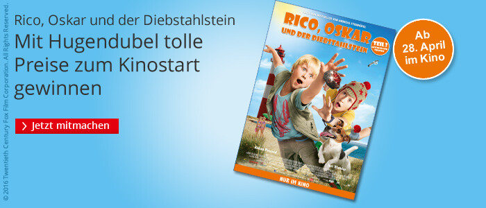 Rico, Oskar und der Diebstahlstein - das große Gewinnspiel
