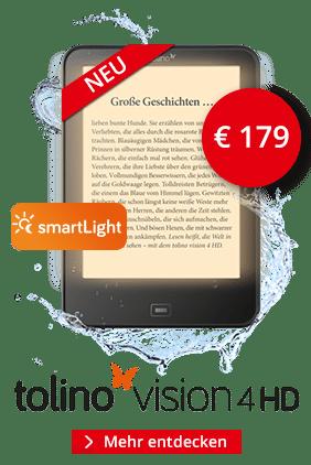 eReader tolino Vision 4 HD mit smartLight